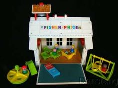Old Fisher-Price Toys Price | This is a great older Fisher Price Toy set that I know many people use