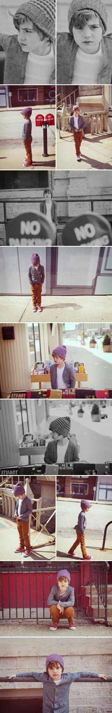 Portrait Photography Inspiration : Little boy