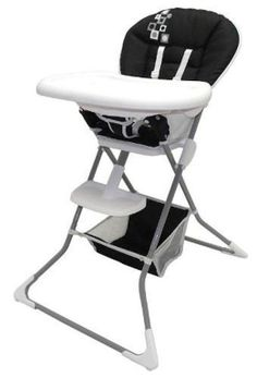 NEW! High Chair-3 Position Removable Tray Baby Feeding High Chair Comfort Strap