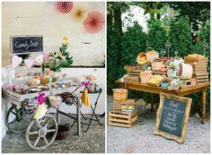 confettata e candy bar idee per matrimonio