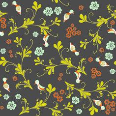 Be Diff - Estampas infantis | Pássaros Klimt by Louise Machado