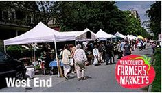 West End Farmers Market 2014 begins Sat, 31 May 2014 in #Vancouver at West End Farmers Market Farmers Market