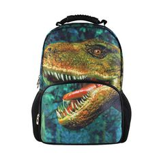 FORUDESIGNS Dinosaurs animal backpack children printing school backpacks kids gifts for teenager boys women backpack men