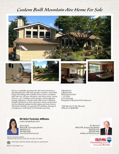 New listing on Glacier Ct - Custom Built home priced to sell