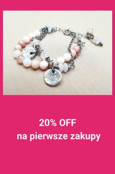Get OFF for your first purchase, sterling silver jewelry with semi precious Stones, handmade, handcrafted, unique artisan jewelry Artisan Jewelry, Wire Wrapping, Babyshower, Sterling Silver Jewelry, Beaded Bracelets, Stones, Handmade, Unique, Poland