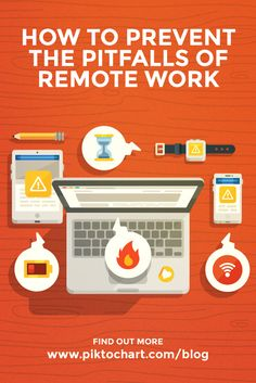 Remote work is one of the greatest advancements in the working life of people around the globe today. But all the benefits of remote work have their price. Read more #productivity and #culture tips on piktochart.com/blog