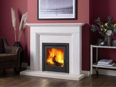 The Aylesbury Limestone Stove Fireplace Surround