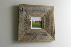 38 Best Reclaimed Wood Frames And Art Images Reclaimed Wood Frames