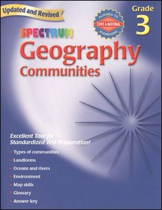 Spectrum Geography Gr. 3 - Communities | Main photo (Cover)