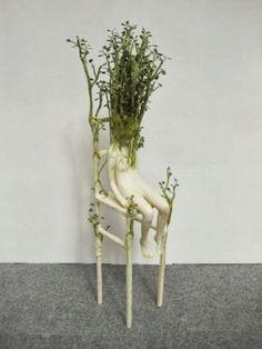 As surreais e perturbadoras esculturas de Yui Ishibari