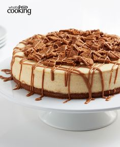Cookie Butter Cheesecake #recipe
