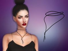 Maria Maria: Rope Necklace • Sims 4 Downloads