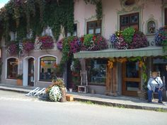 Oberamergau...where you can go shopping, or you cannot go shopping (private joke)