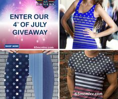 65 MCMLXV Fourth of July #giveaway...