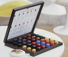 Nespresso box different tastes - colorful