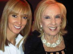 Con mi amiga Mirtha Legrand
