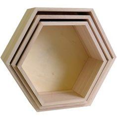 Etagères Hexagonales