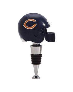 Chicago Bears Football Helmet Wine Bottle Stopper #ChicagoBears