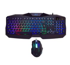 Rii RM400 LED Gaming Keyboard Mouse Combo Bundle (7 Color Backlit) (rm400)  | Computers/Tablets & Networking, Keyboards, Mice & Pointers, Keyboard & Mouse Bundles | eBay!