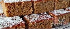 Recept Medový perník posypaný kokosem Sweet Cakes, Ham, Banana Bread, Food And Drink, Yummy Food, Baking, Pies, Kuchen, Delicious Food
