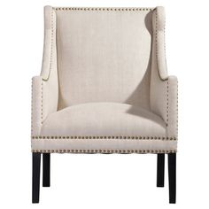 Swoop arm chair with nailhead trim $1,210.95