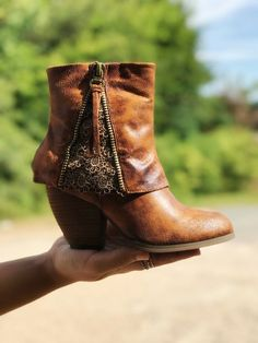 """Our """"Southern Sass"""" Booties are now ONLY $49.49!! #booties"""