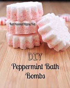 The RedHeaded Hippie Lifestyle Blog | DIY Peppermint Bath Bombs. I'm obsessed with sugar scrubs, but if you know me personally you know that I also LOVE bath bombs. These little beauties are super expensive especially when you consider the ingredients. Today I'm sharing a peppermint bath bomb recipe that's perfect for the holidays!