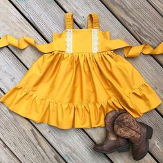 Lacey mustard dress fall mustard dress photo by sweetwhitepeony2