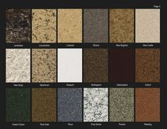 Quartz Kitchen Countertop Colors