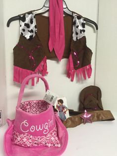 Cowgirl Halloween Costume Playtime With Treat A Trick Cowgirl Hat Basket Unique…