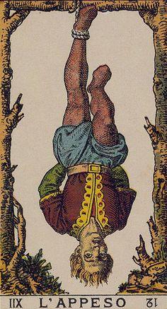 The Hanged Man - Ancient Italian Tarot