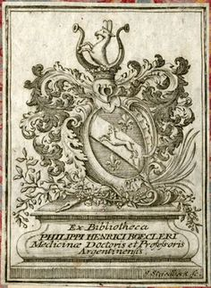 [Provenienz]: Boecler, Philipp Heinrich