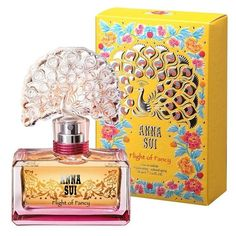 Anna Sui 'Flight of Fancy' Eau de Toilette ($60) ❤ liked on Polyvore featuring beauty products, fragrance, beauty, rose fragrance, anna sui fragrance, rose perfume, flower fragrance and eau de toilette perfume