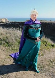 Elsa Coronation Dress tutorial