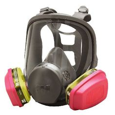 3M 6000 Series Full Facepiece Multi-Purpose Respirator Assembly