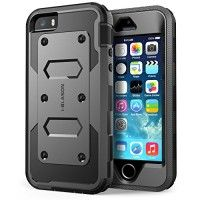 iPhone 5S Case,  **Slim Protection** i-Blason Armorbox  Hybrid Full-body Protective Case with Front Cover and Built-in Screen Protector / Impact Resistant Bumpers Cover with Holster Combo for Apple iPhone 5 / 5S (Black) http://themarketplacespot.com/wp-content/uploads/2015/10/51sUGFOTrKL-200x200.jpg   i-Blason Armorbox -  Series Dual Layer Armored Rugged Protective Case with Built-in Screen Protector for Apple iPhone 5S / 5 inch  Warning: This Case is Custom Fit for iPhone 5S