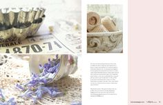 tins and lavender n cotton spools