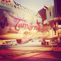 Next stop #tomorrowland ✈ | Via Tomorrowland Radio at http://www.tomorrowlandradio.com