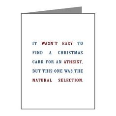 Pin by p khalil on merry christmas pinterest atheism religion natural selection christmas cards for atheists m4hsunfo