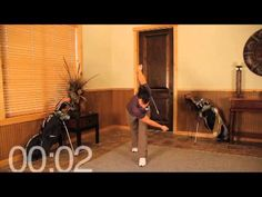 Over 50 #golfer? Try this stretch to improve hip #power and shoulder turn!    www.rotoruagolfclub.co.nz