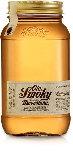 Peach Moonshine - Ole Smoky Moonshine Tennessee #moonshine #olesmoky