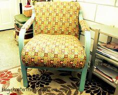 chair makeover blog.chapterthirtyseven.com