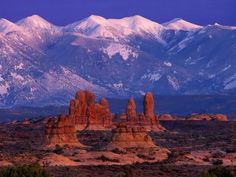 Image detail for -arches national park desert mountains plains utah