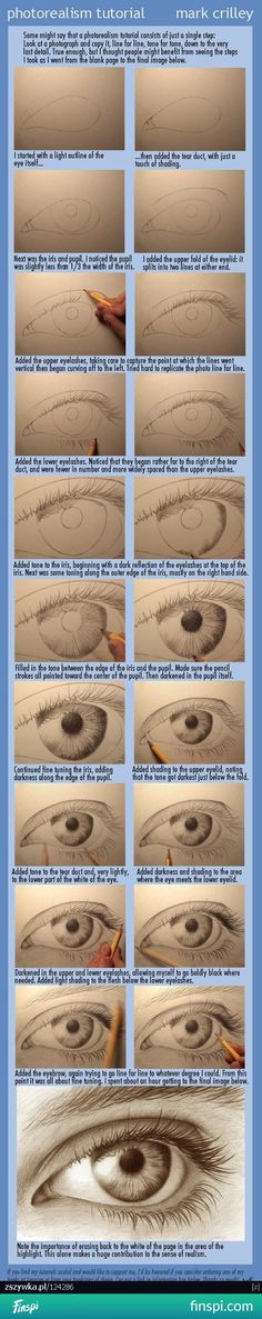 How to draw an eye step by step ♥ #drawing #art #eye #step by step