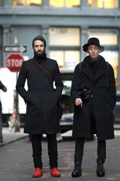Adam Katz Sinding and YoungJun Koo on Jersey St