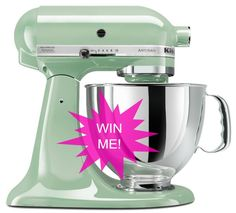 GIVEAWAY: KitchenAid Stand Mixer ($350 Value!)