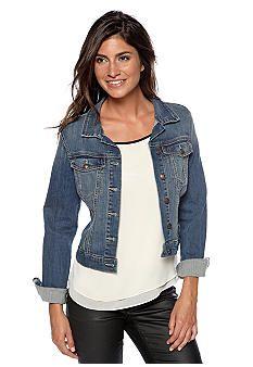 Liverpool Women's Classic Button Front Jacket in Powerflex Knit ...