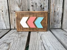 Hey, I found this really awesome Etsy listing at https://www.etsy.com/listing/268614329/wood-arrow-chevron-sign-personalized