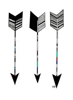Arrow Ink Drawing Paper Print by NatayDavila Sharpie Paint Pens, Sharpie Art, Arrow Drawing, Arrow Feather, Arrow Art, Art Basics, Just Ink, Arrow Tattoos, Tatoos