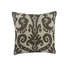 I pinned this Ikat Pillow in Brown from the Red Gate event at Joss and Main!